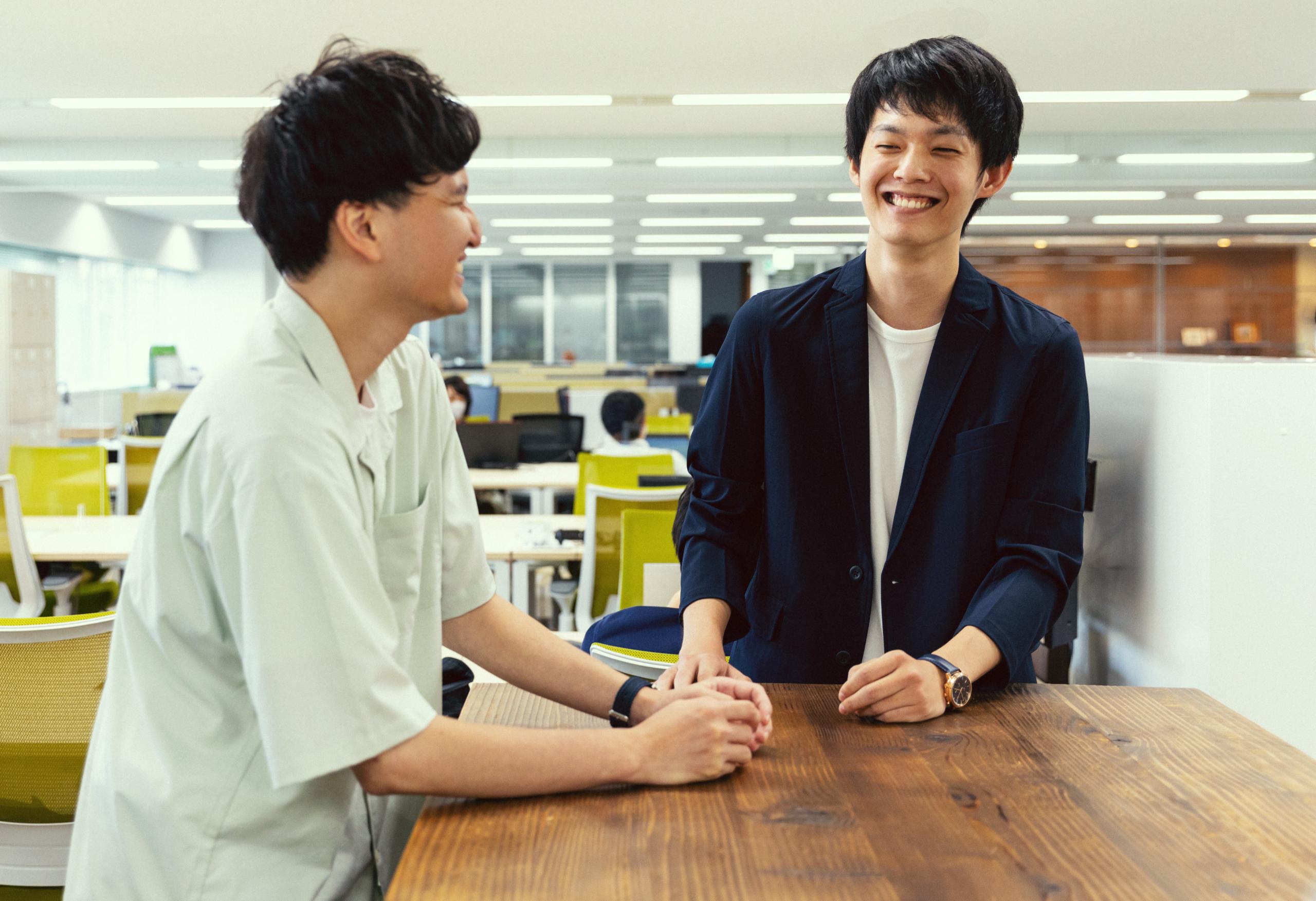 松田 靖修【2017年入社】×伊藤 烈【2020年入社】<br><br>やるときはやる!